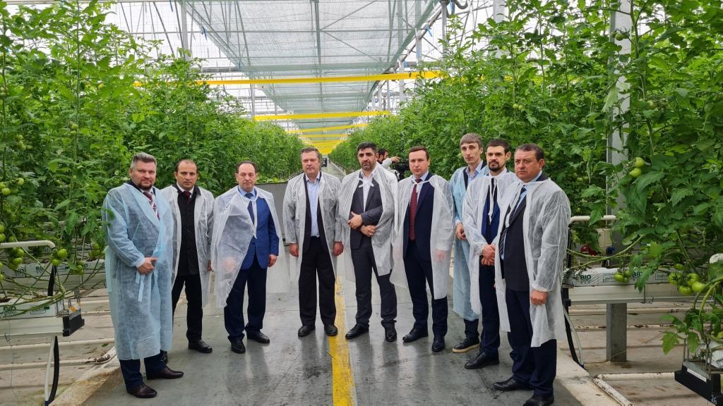 Совещание по вопросам организации и поставки сельскохозяйственной техники и оборудования аграриям  Республики Ингушетия