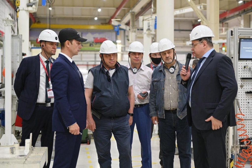 Сенаторы Совета Федерации и руководство Ростсельмаш обсудили вопросы АПК