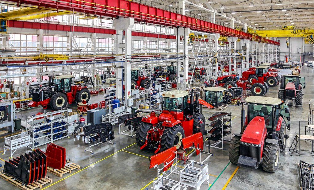 Российские заводы сельхозмашиностроения продолжают активно инвестировать средства в новые производства