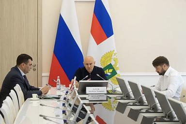 В Минсельхозе обсудили комплекс мелиоративных мероприятий в Краснодарском крае